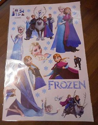 Wandtattoo Elsa Eiskönigin Anna Frozen