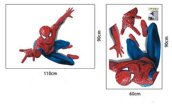Wandtattoo Spiderman NEU für Kinderzimmer XXL