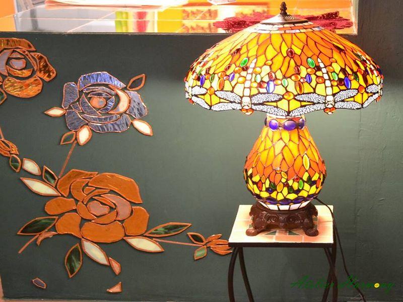 Tiffanylampe Dragonfly