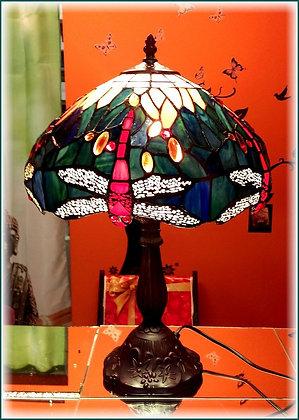 "Tiffany ""Libelle"" Tischlampe"