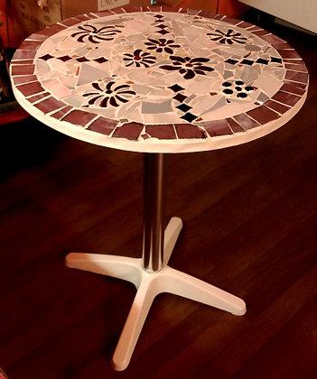 Mosaiktisch handgefertigt D60cm
