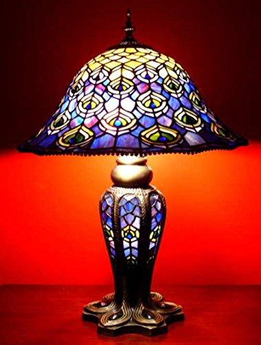 Tiffany Pfauenlampe