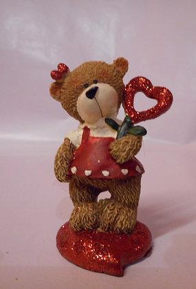 Bär Valentin und Valentina 4er Set