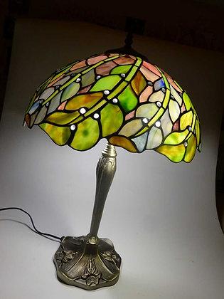 """Tischlampe Tiffanystil """"Baroness Herbst"""" Glas Tischlampe Hängelampe"""