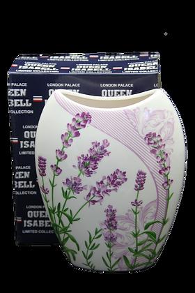 Vase Motiv Lavendel Porzellan Blumenvase