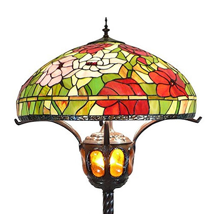 "Stehlampe ""King Flower"" Tiffany Stil"
