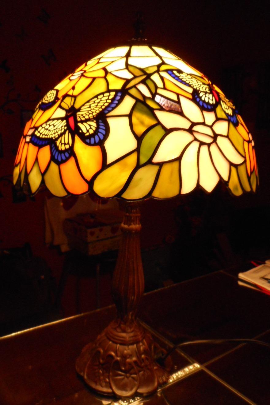 Tiffany Lampe Schmetterling