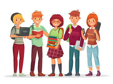high-school-students-group-teenagers-wit