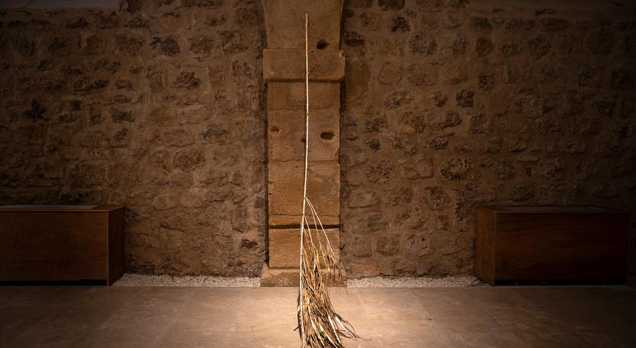 """Museo de los Molinos, sala Caballerizas. """"In-Limitis"""", serie Nudos. Murcia, 2021"""