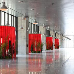 Pterophyta_Edificio Caja Mágica, Madrid