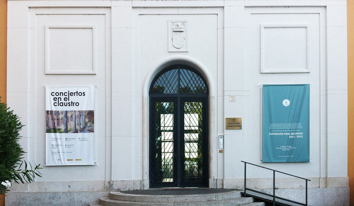 """Becarios Academia de España en Real Academia de España en Roma. """"Becarios Academia de España en Roma"""", serie Edera. Roma. 2012"""