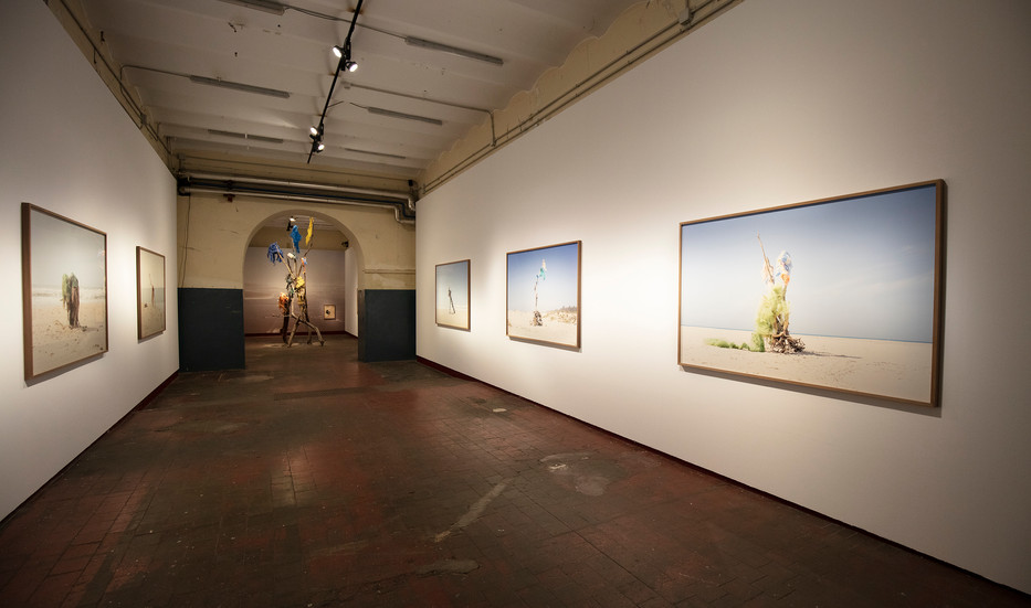 "Centro de Arte Contemporáneo Tabacalera, sala La Fragua. ""Khamekaye"", serie Khamekaye. Madrid, 2021"