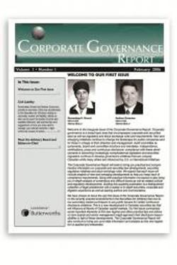 Corporate Governance Report