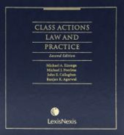 Class Actions Law and Practice