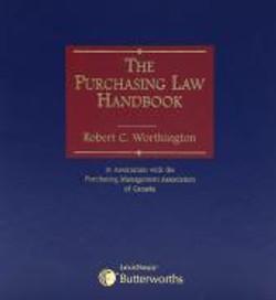 The Purchasing Law Handbook