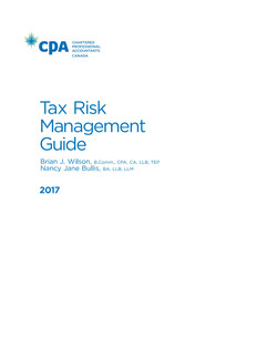 Tax Risk Management Guide