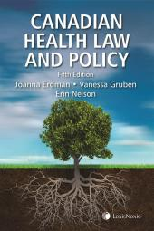 Canadian Health Law and Policy