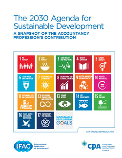 The 2030 Agenda for Sustainable Deve