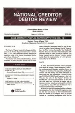 National Creditor Debtor Review