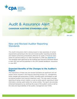 Audit & Assurance Alert: Canadian Au