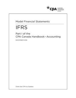 Model Financial Statements