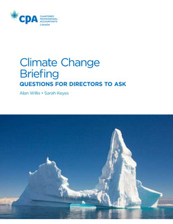 Climate Change Briefing: Questions f