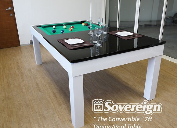 """Convertible"" Dining Pool Table 6ft / 7ft"