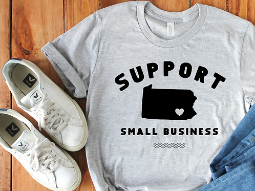 Support Small Business Tee