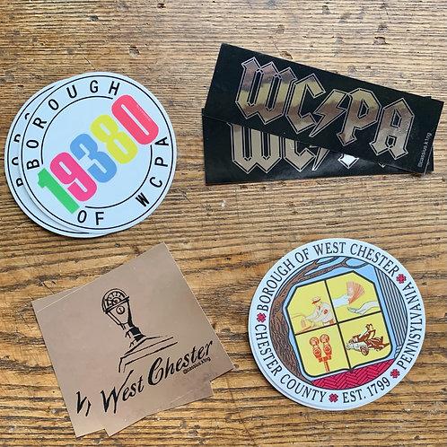 Borough Bound Stickers