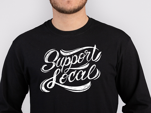 Support Local Long Sleeve Tee