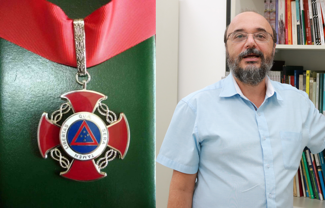 Coordenador do Instituto da Democracia recebe Medalha da Inconfidência
