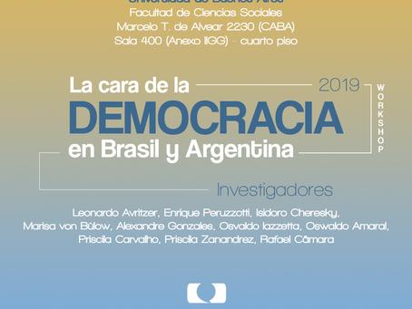 Workshop 'La cara de la Democracia en Brasil y Argentina'