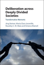 Capa do livro Deliberation across Deeply Divided Societies