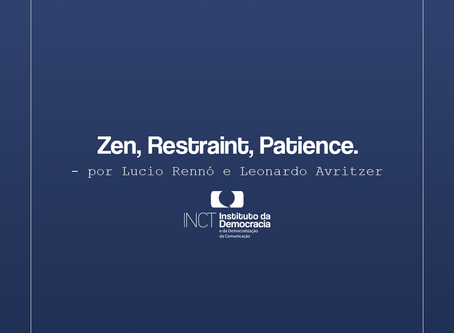 Zen, Restraint, Patience