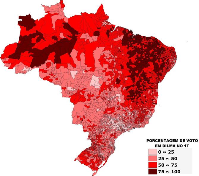 Observatório das Eleições dispõe de Mapas Eleitorais feitos com dados do TSE