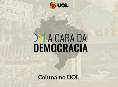 A cara da democracia: nova coluna do UOL