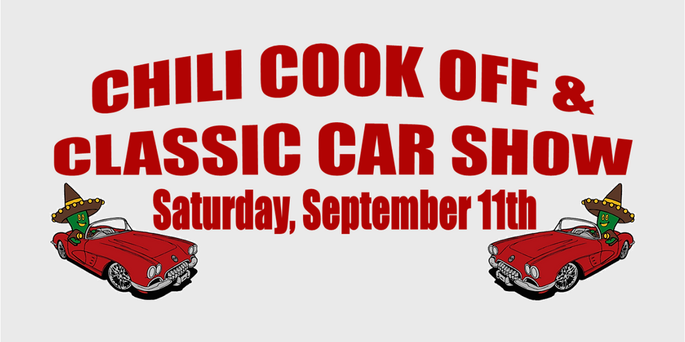 Chili Cook Off & Classic Car Show