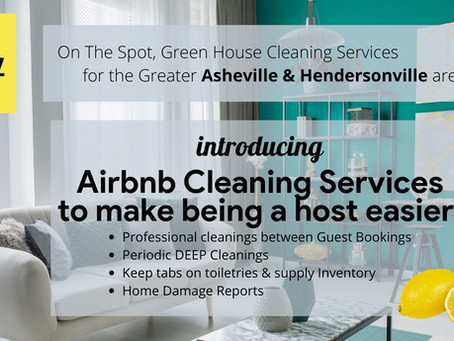 Introducing Airbnb Cleaning Services to make being a host easier!