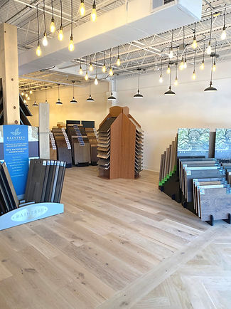 Hardwood flooring in Nashville Showroom