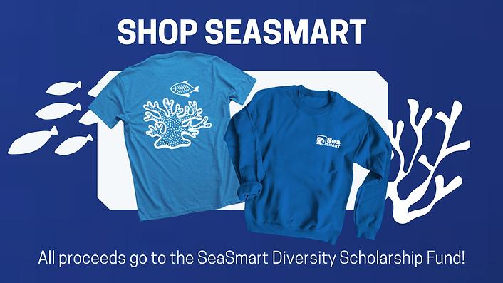 All proceeds go to the SeaSmart Diversit