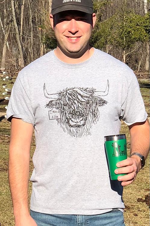 Grey Highland Graphic T-Shirt