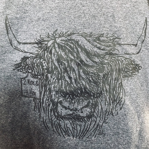 Charcoal Highland Graphic T-Shirt