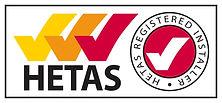Hetas qualified installer. cinnabar stoves