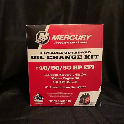 40/50/60 HP EFI Oil Change Kit By Mercury Marine