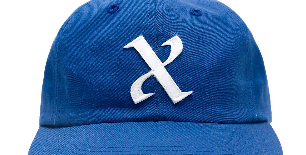 Chrystie NYC x Soho Warriors 10 Year 'X' Hat Blue