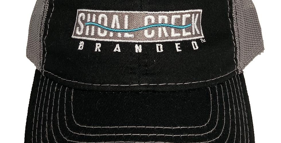 Logo Black/Charcoal 3163 Cap