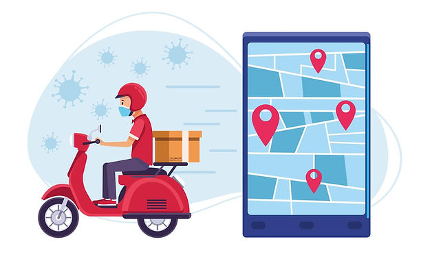 courier-in-motorcycle-delivery-with-covi