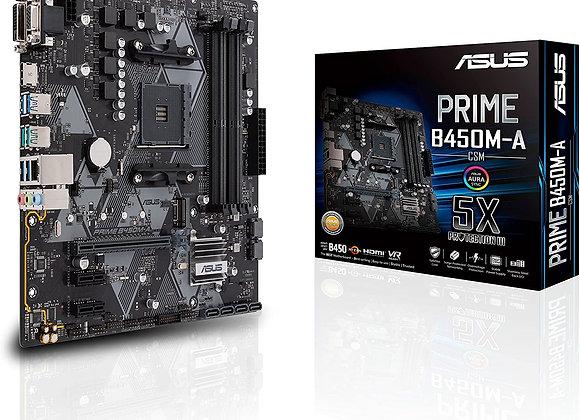 ASUS B450M-A/CSM Prime AMD AM4 mATX Motherboard
