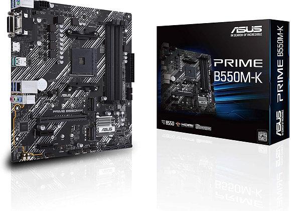 Asus Prime B550M-K AMD AM4 3rd Gen Ryzen mAtx Motherboard