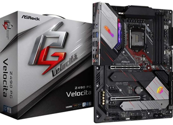 ASRock Z490 Phantom Gaming Velocita Supports 10 th Gen and Future Generation